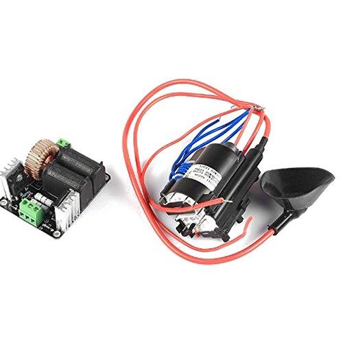 coil driver generator - SODIAL(R)12v-36V ZVS Tesla coil flyback driver/Marx generator/Jacob's' ladder+ignition coil (36v Coil)