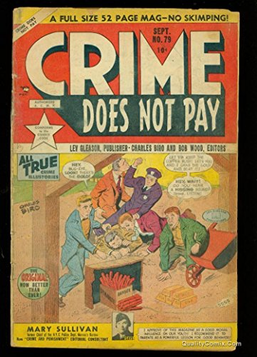 Crime Does Not Pay #79 GD- 1.8