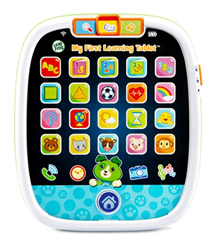 LeapFrog My First Learning Tablet, Black (Best Tablet For 1 Year Old)