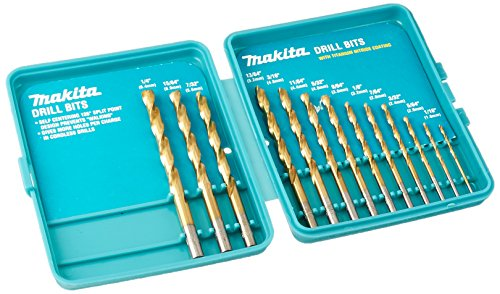 Makita 711367-A-A Coated Drill Bit, 13-Piece Set