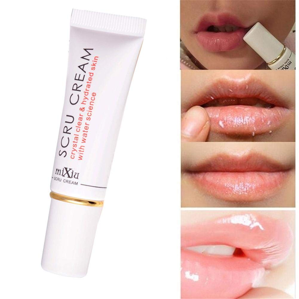 PROKTH Lip Scrub Cream Lip Gel esfoliante Trasparente Remove Dead Skin Repair Lip Esfoliante Scrub 12g