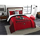 The Northwest Company NFL Tampa Bay Buccaneers King Comforter and Shams Set