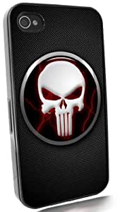Punisher on Carbon Fiber Black IPhone 4 & 4S Case from Redeye Laserworks IPhone Cases