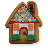 Ann Clark Gingerbread House Cookie Cutter - 3.5 Inches - Tin Plated Steel