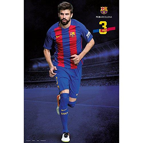 Grupo Erik editores FC Barcelona 2016/2017Pique Pose–Poster,