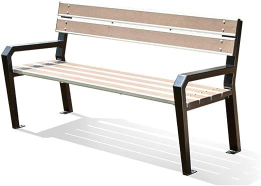 XLOO Muebles de Exterior, Banco de jardín para Patio para 2 ...