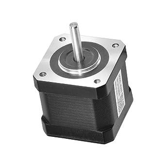 Nema 17 Motor paso a paso 4 cables 0,71 Nm 1,8 Deg 1,8 A 2 Fase 42 ...