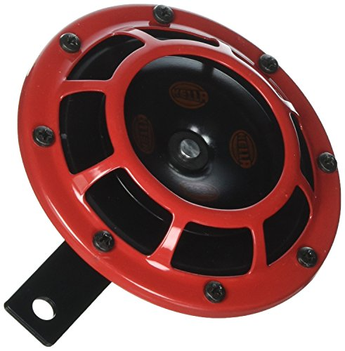 Stark Sound – 109.23.37 – Red Set 12 V High/Low Frequency Hella Super Tone Horn Set B 133, 12 volt -