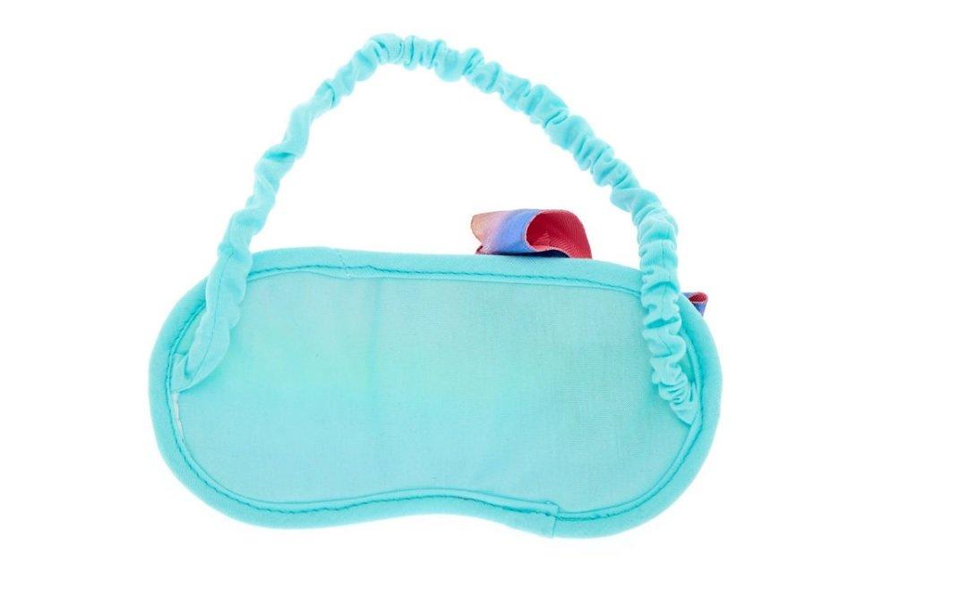 7575aed22f8b Amazon.com  JoJo Siwa Payette Heart Rainbow Green Sleeping Mask  Health    Personal Care