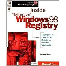 Inside the Microsoft Windows 98 Registry (Mps)