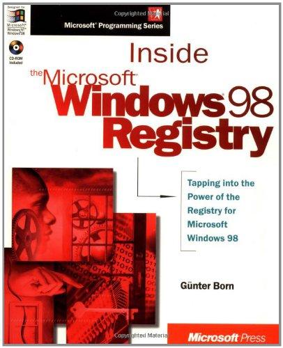 Inside the Microsoft Windows 98 Registry (Mps) by Brand: Microsoft Press