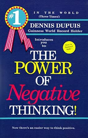 the power of negative thinking ebook   kindle edition by