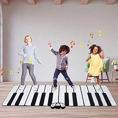FDInspiration 24-Key Kids Keyboard Dance Gigantic Piano Playmat w/ Cable with Ebook by FDInspiration (Image #2)