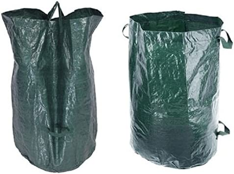 Bolsas de basura de jardín, saco, saco de jardín, 110 litros Saco de basura, 45 x 70 cm: Amazon.es: Jardín
