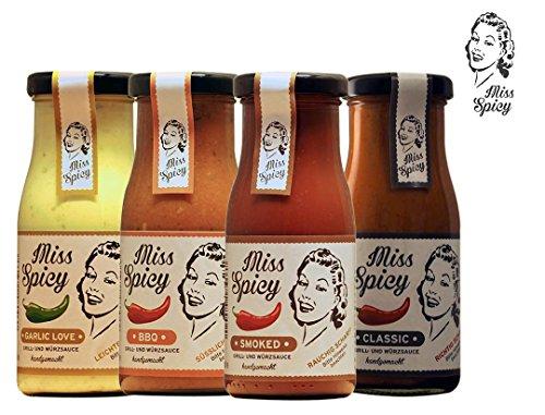 Miss-Spicy-Grillsaucen-Probier-Paket-4x150ml