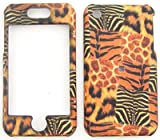 Apple iPhone 1G/2GS Giraffe/Leopard/Tiger/Zebra Print Hard Case/Cover/Faceplate/Snap On/Housing/Protector