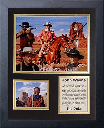 Legends Never Die John Wayne Framed Photo Collage, 11 x 14 (Legends Never Die John Wayne)