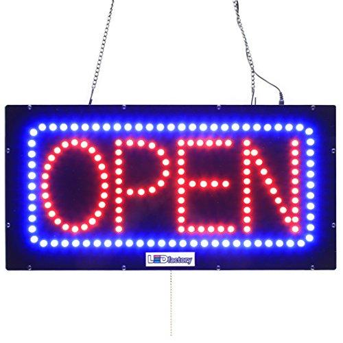 LED OPEN SIGN - HORIZONTAL