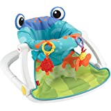 Asiento Sit-Me-Up Floor de Fisher-Price, talla única , Multicolor