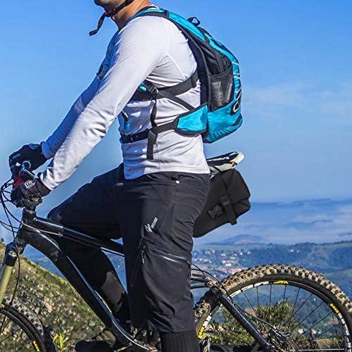 Senderismo Faviye Ciclismo Bolsa de Almacenamiento Trasera de Bicicleta para viajeros Bolsa de sill/ín para Bicicleta