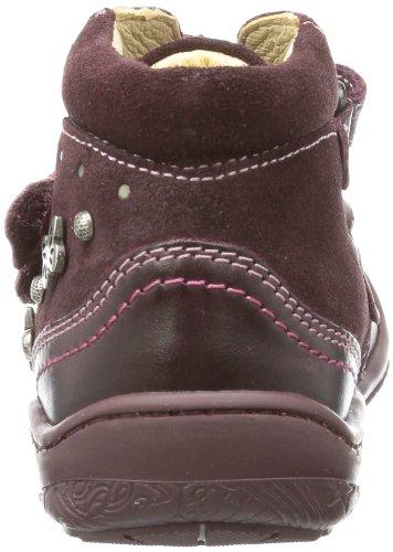 Primigi YOLENE-E - zapatilla de velcro de cuero niña rojo - Rot (PRUGNA YOLENE-E)