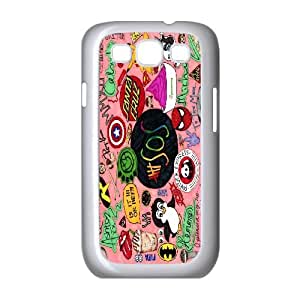 FOR Samsung Galaxy S3 -(DXJ PHONE CASE)-5SOS Rock Music Band- Love Music-PATTERN 10
