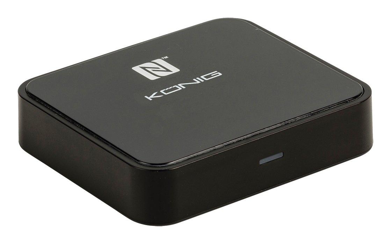 Konig Transmisor De Audio Avanzado con Tecnolog/ía Inal/ámbrica Bluetooth Csbtrcvr110