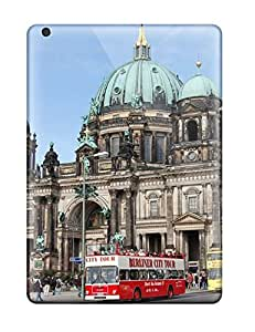 Ultra Slim Fit Hard Valerie Lyn Miller Case Cover Specially Made For Ipad Air- Berlin City