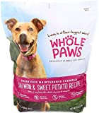 Whole Paws, Adult Maintenance Dog Food Formula, Salmon & Sweet Potato (Grain Free), 6 lb