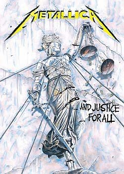 METALLICA POSTER And Justice for All RARE HOT NEW 24x36