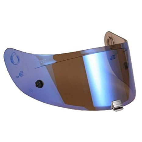 4cb8c609 Amazon.com: HJC HJ-20M Motorcycle Helmet Replacement Visor for IS-17 / FG-17  - Blue Iridium: Sports & Outdoors