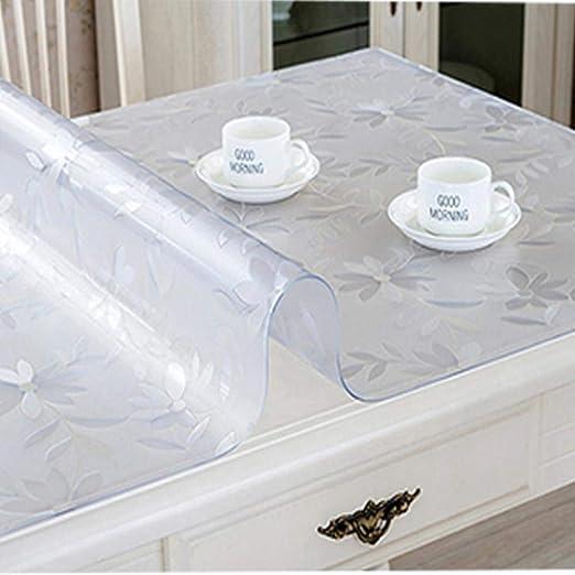 DACCU Mantel Protector de Mesa de PVC para Mesa de Comedor de ...