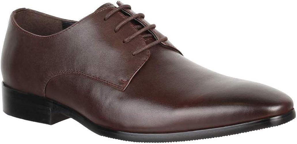 Elara Herren Leder Schuhe Business Schnürschuhe Chunkyrayan
