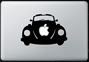 Vw Bug Beetle - Sticker Decal MacBook, Air, Pro All Models.