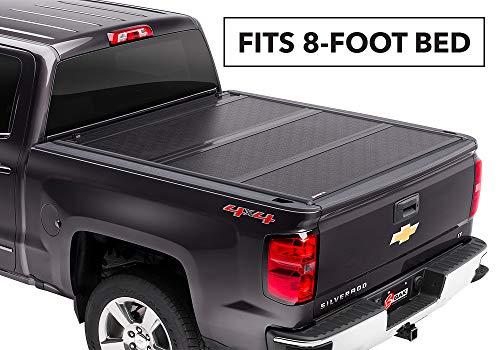 BAKFlip G2 Hard Folding Truck Bed Tonneau Cover | 226122 | fits 2014-19 GM Silverado, Sierra 8' bed