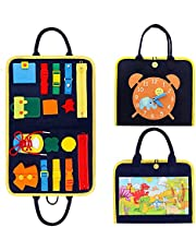 TOLOYE Montessori Speelgoed voor basismotor en dressing (Hand-held met dinosaurus)