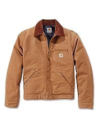 Carhartt Men's Duck Detroit Workwear Jacket Medium Carhartt Brown