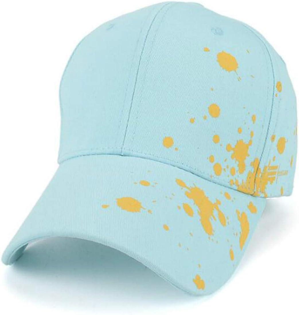 ZPAYFSDS Fashion Graffiti Baseball Cap Casual Hat Man Woman Splashing Ink Adjustable
