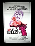 LOVE & BULLETS-1979-POSTER-CHARLES BRONSON-CRIME-DRAMA EX