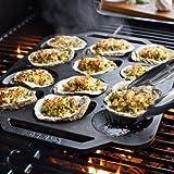 Sur La Table Cast Iron Oyster Pan CC6446 , 12 Cavity