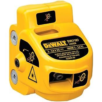dewalt dw7187 adjustable miter-saw laser system manual
