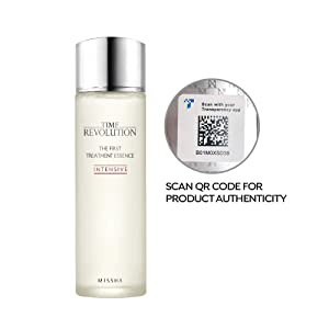 Missha Time Revolution The First Treatment Essence Intensive 150ml- Kbeauty concentrated essence with moisturizing antioxidants to condition, clarify, refine for clean and bright complexion