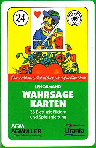 ASS - Lenormand (Symbole): Die echten Altenburg-Spielkarten