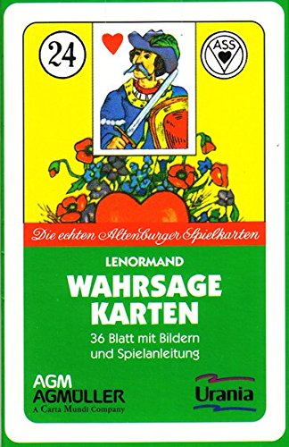ASS - Lenormand (Symbole): Die echten Altenburg-Spielkarten Karten – 1. Juli 2005 Marie-Anne A. Lenormand Königsfurt-Urania Verlag 3038191191 Tarot