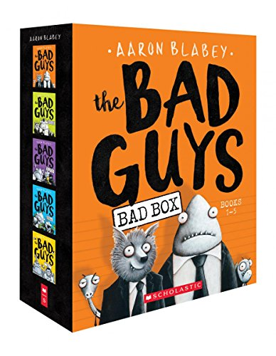 (The Bad Guys Box Set: Books 1-5)