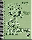Das Ding  Kultliederbuch