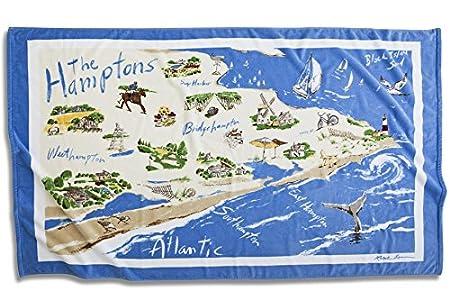 Ralph Lauren Lauren Toalla de Playa - Hamptons Destino: Amazon.es ...