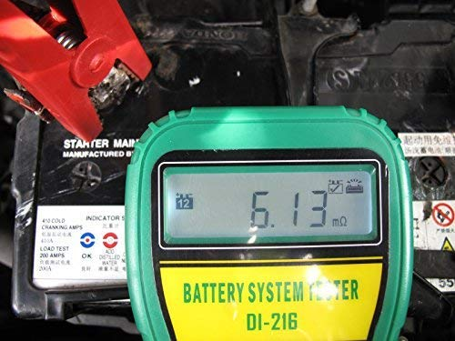 DLG DI-216 Automotive Battery Tester Vehicle Car Battery System Analyzer Diagnostic Tool by DLG (Image #3)
