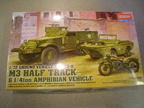 1/72 M3 Half Track/Amphibian - Amphibian Vehicle Kit