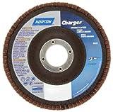 60 Grit 4-1/2'' Diam 5/8-11 Center Hole Type 27 Zirconia Alumina Flap Disc
